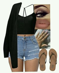A fashion look from February 2018 featuring By Malene Birger, see through lingerie and billabong sandals. Browse and shop related looks. Swag Outfits For Girls, Cute Comfy Outfits, Teen Fashion Outfits, Cute Casual Outfits, Teenager Outfits, Hot Outfits, Simple Outfits, Summer Outfits, Girl Outfits