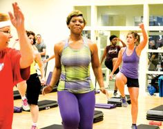 Group of women form healthy bond through exercise, encouragement