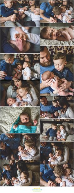 Springfield OH Newborn Photographer   Amanda Noel Photography   baby boy with siblings at home