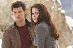 "Taylor Lautner (""Jacob Black"") and Kristen Stewart (""Bella Swan"") star in The Twilight Saga: Breaking Dawn - Part 2."