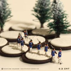 Japanese Artist Creates Fun Miniature Dioramas Every Day For - Japanese artist creates fun miniature dioramas everyday for five years