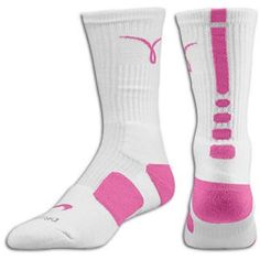 Nike Elite Breat Cancer Socks Cushioned Elite Socks. Breast Cancer Edition. One Size (L) Nike Other