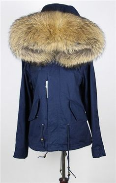 New big raccoon fur hood winter jacket women parka natural real fur coat  for women thick soft lining abrigos de piel mujer 2016 f49afae32739