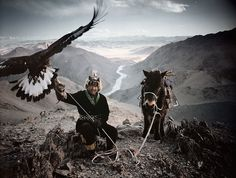 Mongolia. Not only is the landscape breathtaking, but I MUST meet these people who hunt with eagles on horseback!