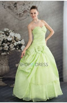 green ball gowns #green #wedding #party #gowns #prom #fashion