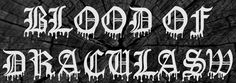 Blood of DraculaSw Font