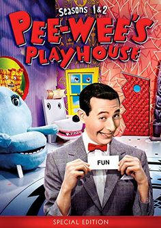 Pee-wees Playhouse Seasons 1 & 2 (special Edition) DVD for sale online Phil Hartman, Pee Wee's Playhouse, Paul Reubens, Pee Wee Herman, Play Houses, Season 1, Entertaining, Fun
