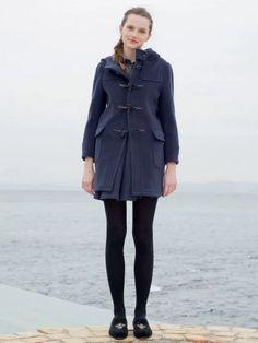 ビューティフル ピープル(beautiful people) > [先行] *wool back check dufful coat 通販…