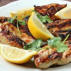 Lemon and garlic chicken @ allrecipes.co.uk
