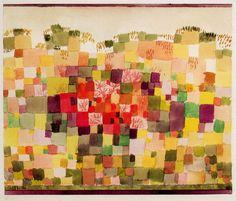 1923 Paul Klee 'Dune Flora'.