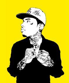 Kid Ink Babyyy Rap Music Bands Illustrations Illustration Art Graphic