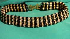 Vintage Choker Collar Classic Elegant Black by dianadivine on Etsy, $69.00