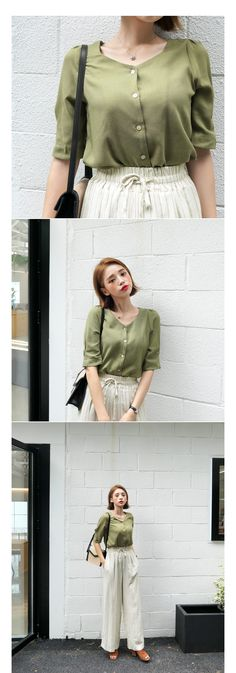 Women's Clothing Adroit 2019 Women Tops And Blouse Womens Korean Style V Neck Blouse Shirt Fashion Clothing Short Sleeve Female Clothes Stylish Ladies Fine Workmanship