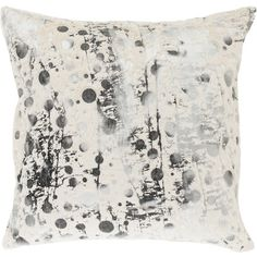 Inspired by paint-splattered canvases, this captivating pillow infuses your decor with artful flair.   Product: Set of 2 pillows