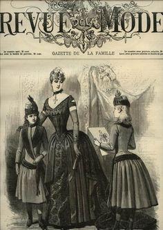 LA REVUE DE LA MODE  ... February 7, 1886