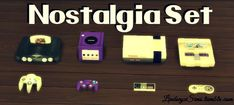 Nostalgia clutter set at LindseyxSims via Sims 4 Updates  Check more at http://sims4updates.net/objects/decor/nostalgia-clutter-set-at-lindseyxsims/