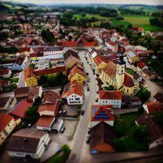 Ein Blick auf den Markt Eichendorf.  #LuftbilderOsterhofen #Eichendorf #Luftbilder #Luftbildaufnahme #Drohne #DJI #Inspire1