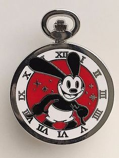 OSWALD the Lucky Rabbit Pocket Watch - Disney Mickey Trading Pin Magical Mystery