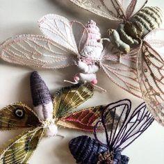 beautiful collection of brooches in my etsy story ..... !!!!!beautiful collection of brooches @mysouldesignart #natalialubieniecka #mysouldesign #whitemoth  #textil #textilart  #textileart  #textiledesigner  #etsytalents #etsytalent #etsyhunters  #etsy #shovava #timohandmade #textilesculpture #cicada #cicadaart  #mixemedia  #mixmediaartist  #deanlucer #craftsposure #aquitstyle #fouriadorefriday #poplescreatives #allwhatsbeautiful #artistworkspac #brooch  #broochhandmade  #broch