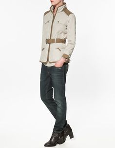 COMBINED QUILTED JACKET - ZARA United States