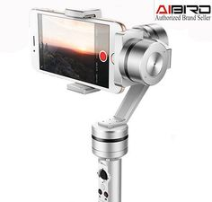 249.00$  Buy now - http://aliq3h.worldwells.pw/go.php?t=32762182027 - AIbird Uoplay 3-Axis Handheld High-Gloss Steady Gimbal Stabilizer for Smartphone for GoPro & Action Camera PK Zhiyun Crane M 249.00$