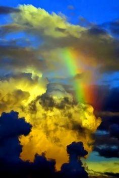 Somewhere over the rainbow...