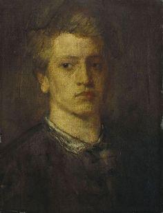 Hans von Marées - Bildnis Adolf von Hildebrand 1868u