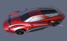 Ferrari Homage Concept on Behance