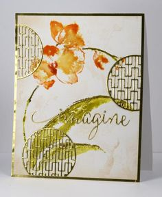 Asian inspired orchid by Heather T - Cards and Paper Crafts at Splitcoaststampers