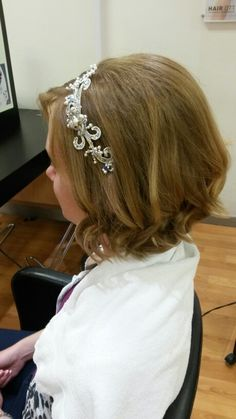 Bride hairband
