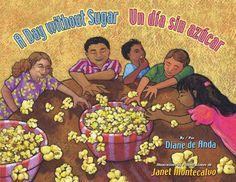 A Day Without Sugar / Un Dia Sin Azucar by Diane Deanda http://www.amazon.com/dp/1558857028/ref=cm_sw_r_pi_dp_.AWtub06AHJ88