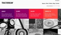 Tractorbeam - Web design inspiration from siteInspire — Designspiration