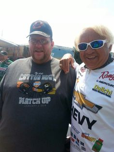 6159292e18 Myself and Jimmy Houston at the FLW fishing expo in Rogers