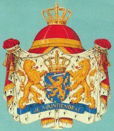 Netherlands - Heraldry of the World, Crest, Coat of arms, Heraldry