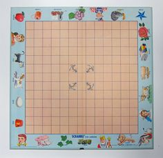 Vintage 1958 Scrabble Junior Board Game for Kids Perfect for Family Game Night $14.00