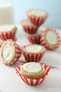 White Chocolate Peanut Butter Cookie Cups