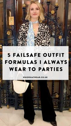 From dressed-down suits to party dresses, these are the outfits I wear when I want to dress up. Burberry Coat, Simple Outfits, Casual Outfits, Holiday Party Outfit Casual, Party Outfits For Women, Casual Fashion Trends, Classy Casual, Classy Chic, High Waisted Flares