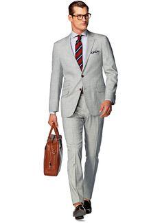 Suit_Light_Grey_Plain_Sienna_P4214I