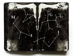 Black Moleskine 07 by Juan Rayos, via Flickr (i want to put this right in the middle of mine)