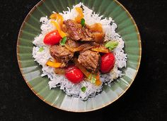 Coconut Curry Beef (Americanized version) from She Wears Many Hats Slow Cooker Recipes, Beef Recipes, Healthy Recipes, Indian Food Recipes, Asian Recipes, Coconut Curry, Coconut Oil, Dinner Entrees, Coconut Recipes