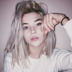 platinum hair blonde girl images, image search, & inspiration to browse every day. Hair Inspo, Hair Inspiration, New Hair, Your Hair, Tumbrl Girls, Aesthetic Girl, Gothic Aesthetic, Cute Hairstyles, Latest Hairstyles