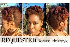 Natural Hair Up Do | Naturally Michy