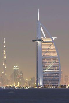 Burj-Al-Arab Hotel, Dubai, UAE