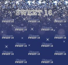 Sweet 16 Step and Repeat Red Carpet Backdrop, Event Banner, Sweet 16, Repeat, City Photo, Backdrops, How To Memorize Things, Templates, Prints