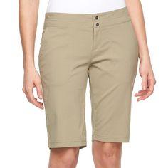 Women's Columbia Zephyr Heights Bermuda Shorts, Red/Coppr (Rust/Coppr)