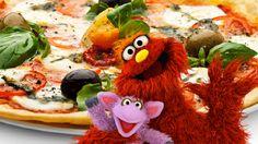 Sesame Street tortilla pizza recipe