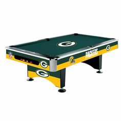 Green Bay Packers Pool Table