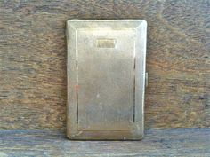 Vintage English Brass Cigarette Case by EnglishShop on Etsy, $29.00