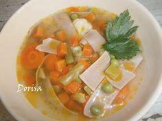 Jednoduchá zeleninová polievka