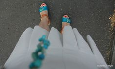 Ocean Blue Style: Elegance & Ease: Shades of White Mix #Mode #Modeblogger #fashion #fashionblogger #colors